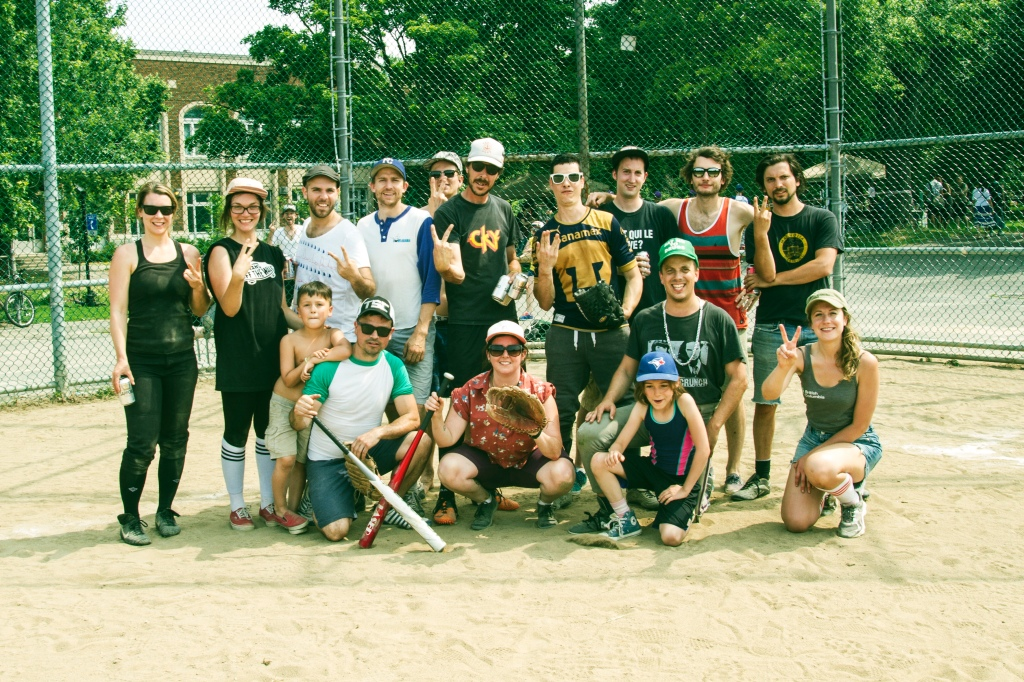 TSC Thunderbirds QDF Softball tournament 2014 - Photo: Danny Belair